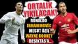 Ortalık yıkılacak! Cristiano Ronaldo ve İbrahimovic Beşiktaşa...
