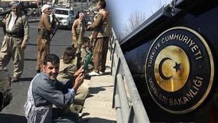 PKK Kerkükte siperlere girdi! Dışişleri harekete geçti