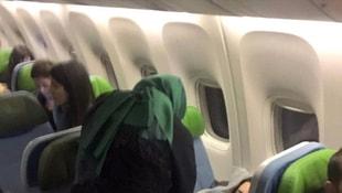 Uçakta rahatsızlanan oyuncuya bakan müdahale etti
