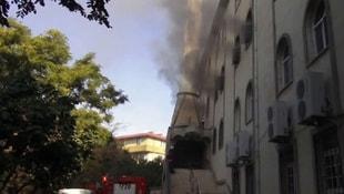 İstanbulda cami yangını!