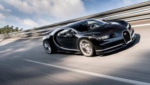 Yeni rekor! Bugattiyi tarihe gömdü!