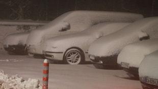Ve yurda ilk kar düştü!
