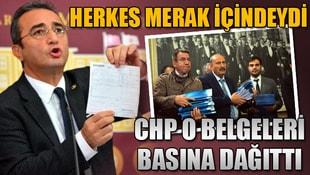 CHP o belgeleri basına dağıttı