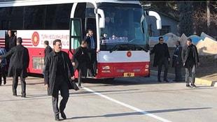 Elazığ'da Cumhurbaşkanı'nın konvoyunda kaza!