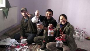 Hakkari'de bomba hazırlayan PKK'lı yakalandı