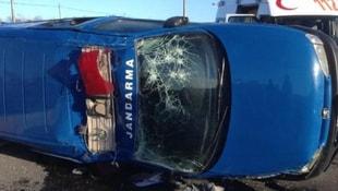 Muğla'da askeri araç devrildi: 7 yaralı