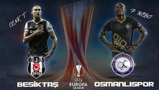 UEFA Avrupa Ligi'nde Beşiktaş ve Osmanlıspor tur peşinde