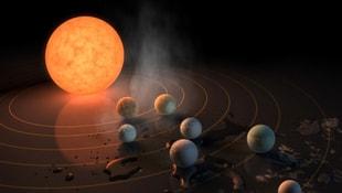 NASA 7 yeni gezegen keşfetti! Üçü canlı yaşamını destekleyebilecek yapıda