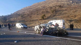 Adıyaman'da trafik kazası: 4 ölü 2 yaralı