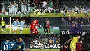 UEFA'da son 16 turuna kalan takımlar belli oldu