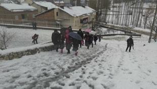 Adıyamanda okullar tatil edildi
