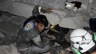 ABD Suriye'de camiyi vurdu: 58 ölü