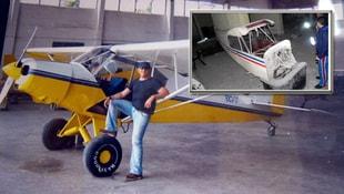 Bodrum katında bulunan uçağın sırrı ortaya çıktı