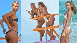 Selena Weber - Lauren Ashley birlikte tatil yaptı