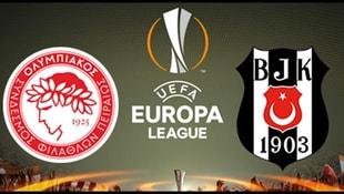 Olympiakos - Beşiktaş maçı ne zaman saat kaçta?