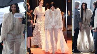 Kim Kardashian kardeşi Kendall Jenner ile filmde sahne aldı