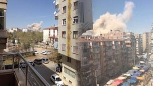 Diyarbakır patlamasından ilk fotoğraflar!