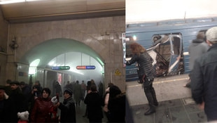Rusyada metro istasyonunda patlama