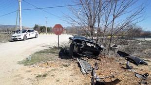 Kastamonu Pınarbaşı Belediye Başkanı trafik kazası geçirdi