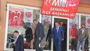 MHP Şemdinlide büro açtı