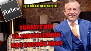 Türkiyenin en zenginlerinin kaç çocuğu var?