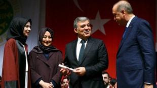 Geline diploma Abdullah Gülden!