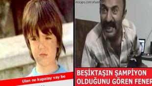 Beşiktaş şampiyon olunca capsler patladı!