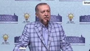 Cumhurbaşkanı Erdoğan bayramlaşma töreninde...