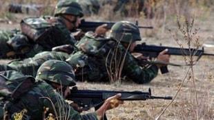 Erzincanda teröristlerle sıcak temas!