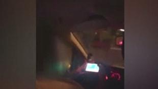 Taksi şoförü pes artık dedirtti