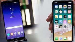 iPhone X mi Samsung Note 8 mi?