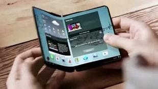 Samsungdan katlanabilir telefon müjdesi!
