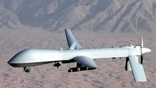 Sınırdaki insansız hava aracını düşürdüler!