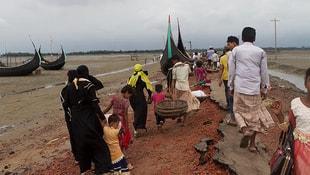 Myanmar Bangladeş sınırına mayın döşedi