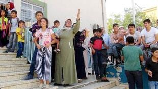 Okul bahçesinde Suriyeli gerginliği!