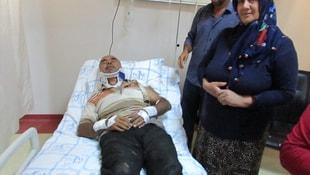 Gaziantepte traktör devrildi: 25 yaralı