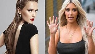 Demet Akalın, Kim Kardashiana postayı koydu! Takipçileri kudurdu