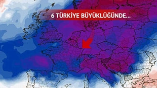 Korkutan uyarı: Geliyor! 6 Türkiye büyüklüğünde