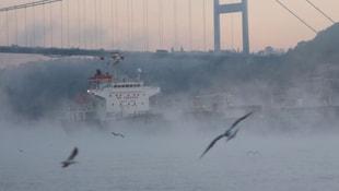 İstanbul Boğazında alarm!