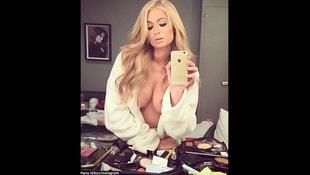 Paris Hilton şovunu yaptı!