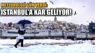 Meteoroloji gün verdi: İstanbula kar geliyor
