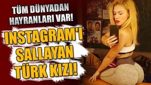 Tüm dünyadan hayranları var! Bu Türk kızı Instagramı sallıyor