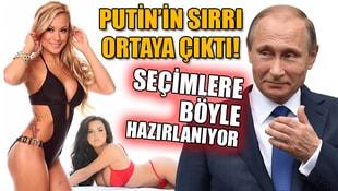 Putinin sırrı ortaya çıktı! Seçimlere kadınlarla hazırlanıyor