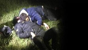 Ormanda uyurken yakalandılar