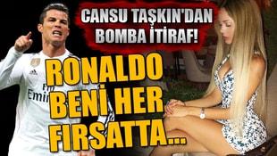 Cansu Taşkından bomba Ronaldo itirafı! Beni her fırsatta...