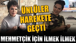 Mehmetçik için ünlülerden sevgi ilmeği hareketi!