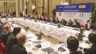 Erdoğandan İtalyan devlerine davet
