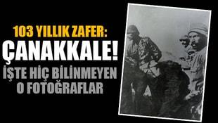 103 yıllık zafer: Çanakkale! İşte hiç bilinmeyen o fotoğraflar