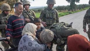 Türk komandosu Afrinde böyle işte böyle karşılandı...