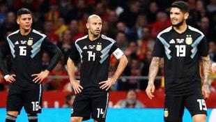 Arjantini sahadan sildiler! Tarihi skor: 6-1